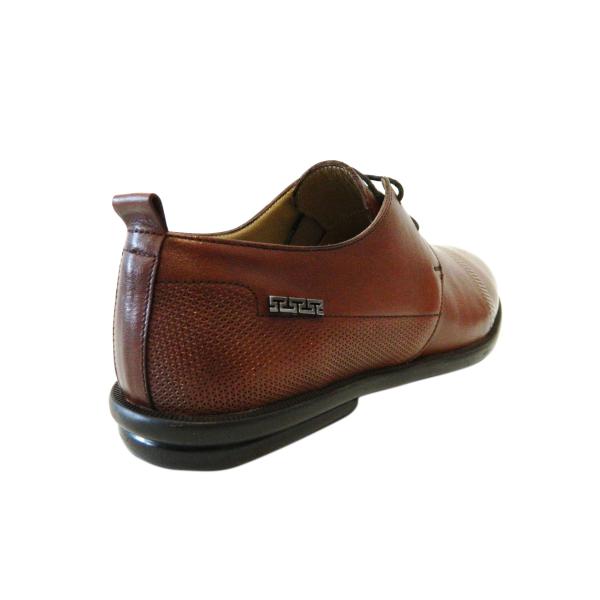 Pantofi pentru barbati din piele naturala, Neil, Gitanos, Maro, 40 EU [1]