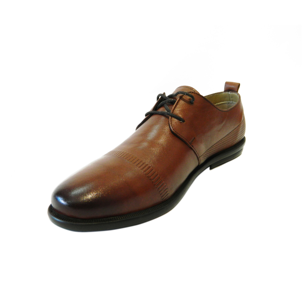 Pantofi pentru barbati din piele naturala, Neil, Gitanos, Maro, 40 EU [2]