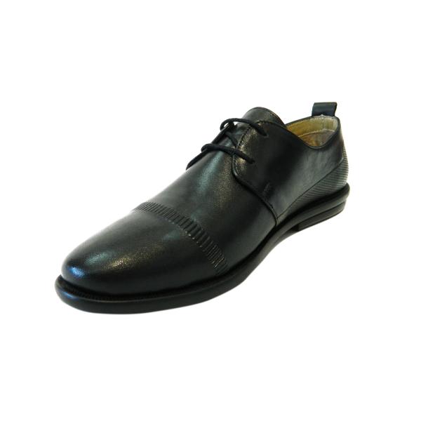 Pantofi pentru barbati din piele naturala, Neil, Gitanos, Negru, 40 EU [2]