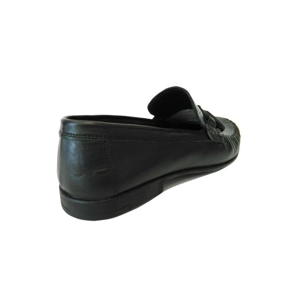 Pantofi pentru barbati din piele naturala, 70s, Goretti, Negru, 40 EU 1