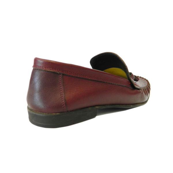Pantofi pentru barbati din piele naturala, 70s, Goretti, Bordeaux, 40 EU [1]