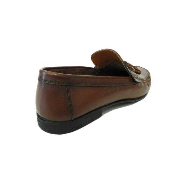 Pantofi pentru barbati din piele naturala, 70s, Goretti, Maro, 40 EU [1]