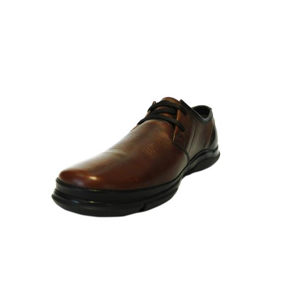 Pantofi pentru barbati din piele naturala, Pablo, Gitanos, Maro, 39 EU 2