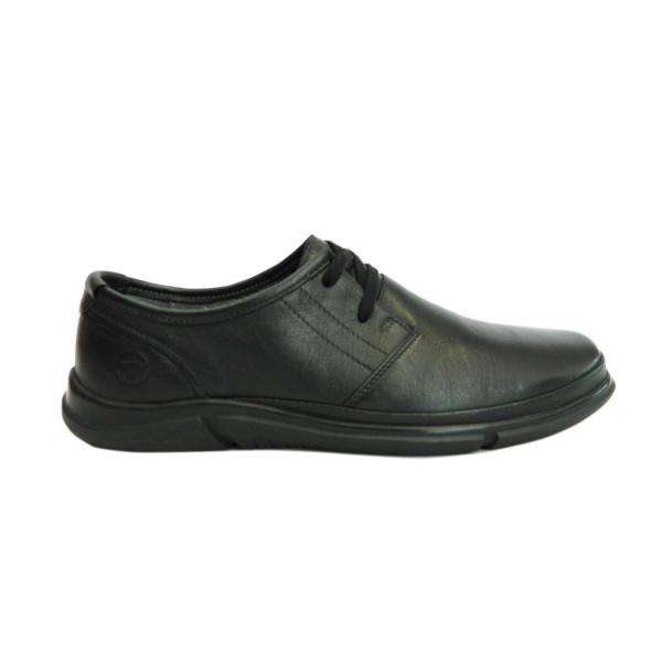 Pantofi pentru barbati din piele naturala, Pablo Gitanos, Negru, 39 EU 0