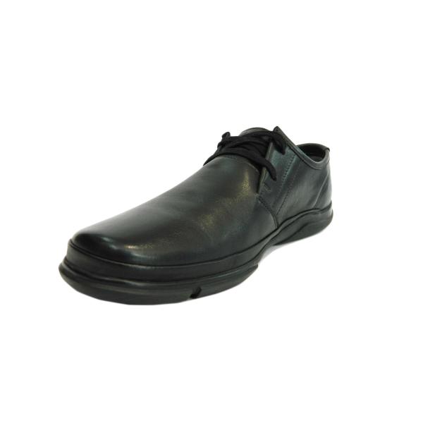 Pantofi pentru barbati din piele naturala, Pablo Gitanos, Negru, 39 EU 2