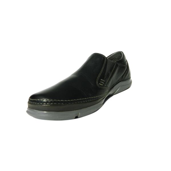 Pantofi pentru barbati din piele naturala, Robin, Gitanos, Albastru, 39 EU 2