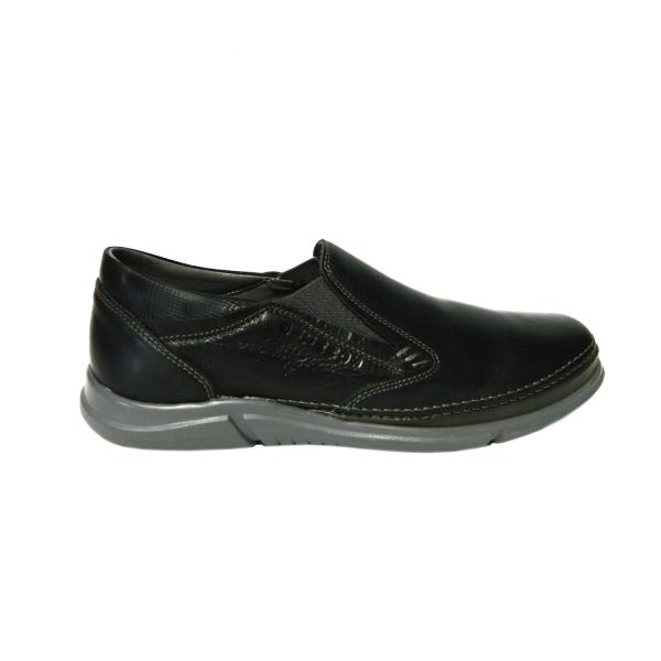 Pantofi pentru barbati din piele naturala, Robin, Gitanos, Albastru, 39 EU 0