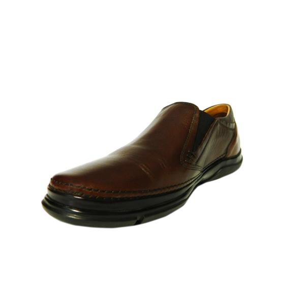 Pantofi pentru barbati din piele naturala, Robin, Gitanos, Maro, 39 EU [2]