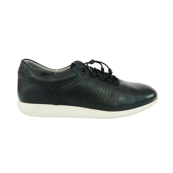 Pantofi pentru barbati din piele naturala, Davids, Gitanos, Albastru, 40 EU [0]