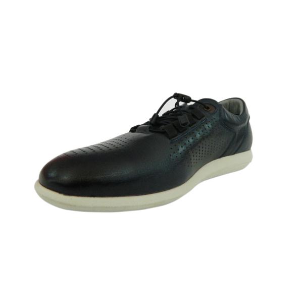 Pantofi pentru barbati din piele naturala, Davids, Gitanos, Albastru, 40 EU [2]