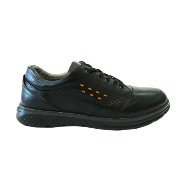 Pantofi pentru barbati din piele naturala, Benny, Gitanos, Negru, 40 EU 0