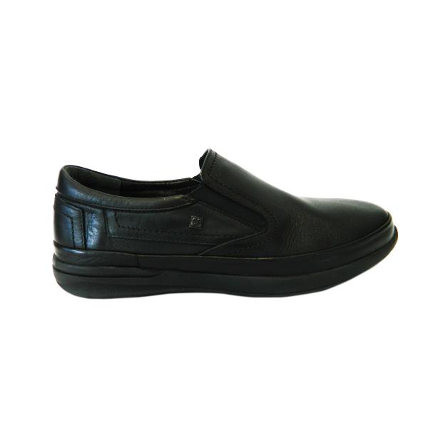 Pantofi pentru barbati din piele naturala, Confort, Gitanos, Negru, 40 EU [0]