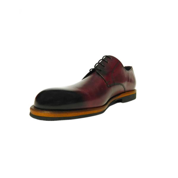 Pantofi eleganti pentru barbati din piele naturala, Florida, Goretti, Bordeaux, 39 EU [2]