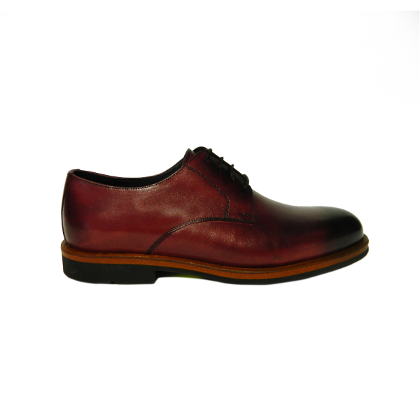 Pantofi eleganti pentru barbati din piele naturala, Florida, Goretti, Bordeaux, 39 EU [0]