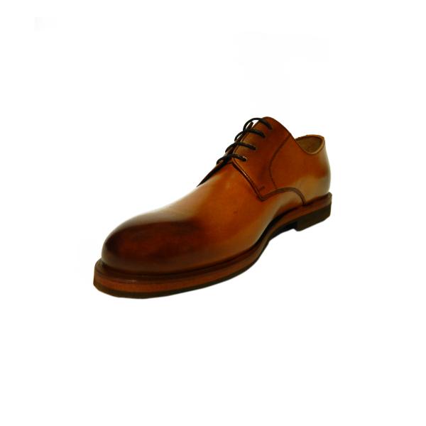 Pantofi eleganti pentru barbati din piele naturala, Florida, Goretti, Maro, 39 EU 2
