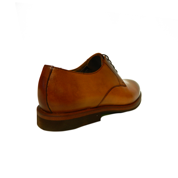 Pantofi eleganti pentru barbati din piele naturala, Florida, Goretti, Maro, 39 EU 1