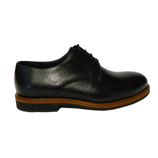 Pantofi pentru barbati din piele naturala, Florida, Goretti, Negru, 39 EU 0