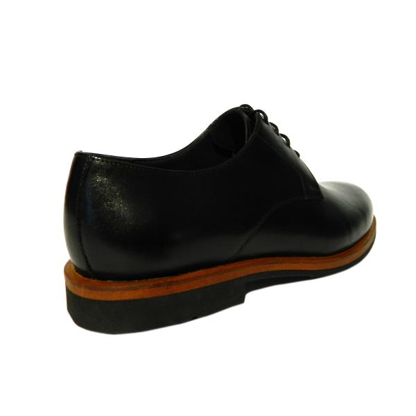 Pantofi pentru barbati din piele naturala, Florida, Goretti, Negru, 39 EU 1