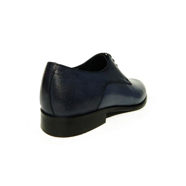 Pantofi eleganti pentru barbati din piele naturala, Bojan, Goretti, Albastru, 40 EU [1]
