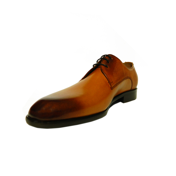 Pantofi eleganti pentru barbati din piele naturala, Bojan, Goretti, Maro, 40 EU [2]