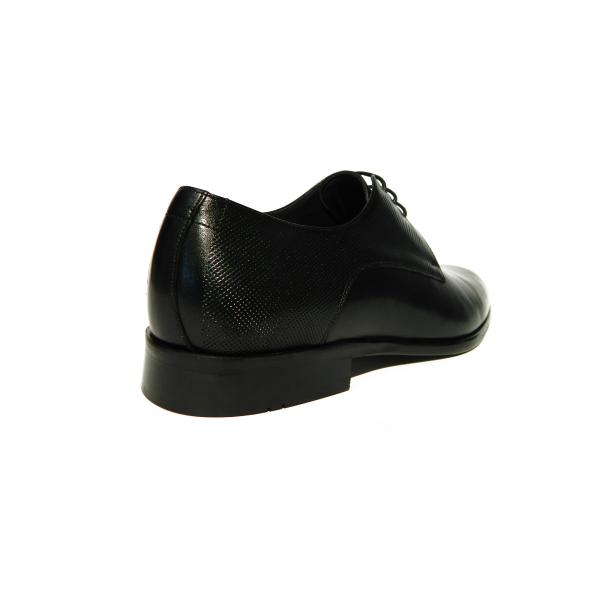 Pantofi eleganti pentru barbati din piele naturala, Bojan, Goretti, Negru, 40 EU 1