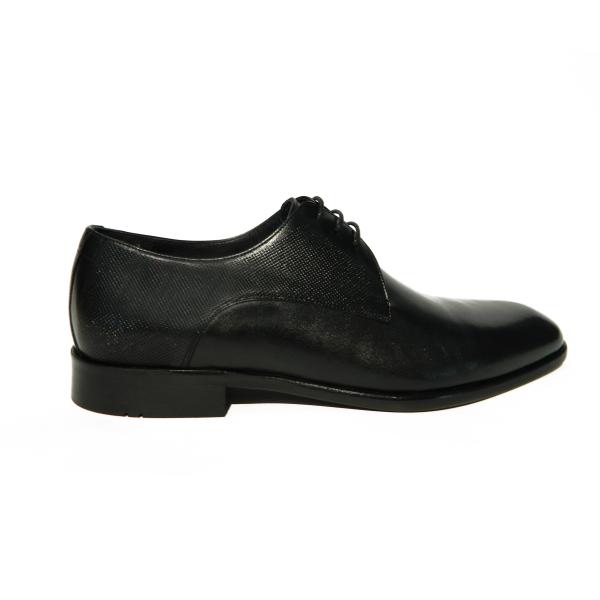 Pantofi eleganti pentru barbati din piele naturala, Bojan, Goretti, Negru, 40 EU 0