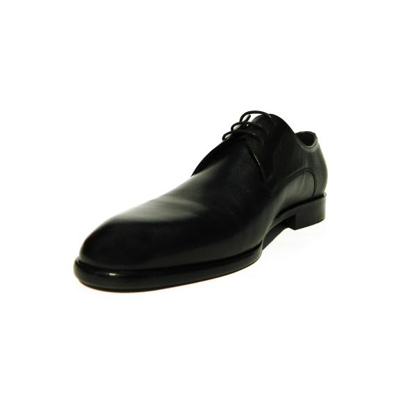 Pantofi eleganti pentru barbati din piele naturala, Bojan, Goretti, Negru, 40 EU 2