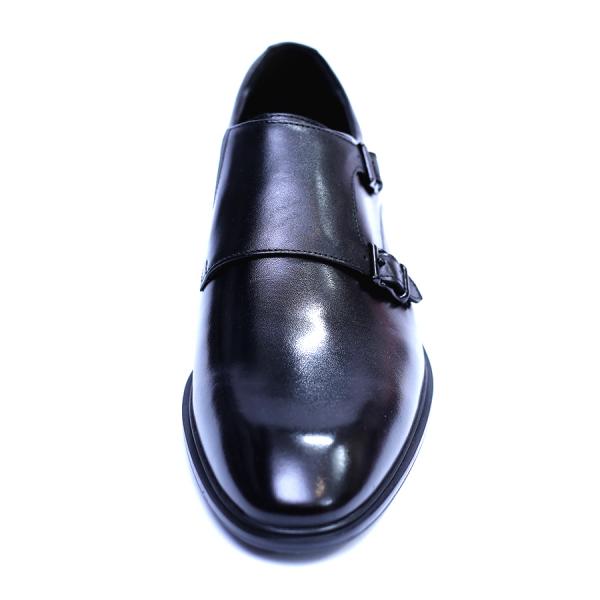 Pantofi barbati din piele naturala, Vito, SACCIO, Negru, 41 EU 1