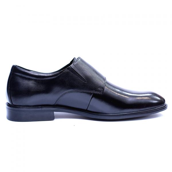 Pantofi barbati din piele naturala, Vito, SACCIO, Negru, 41 EU 4