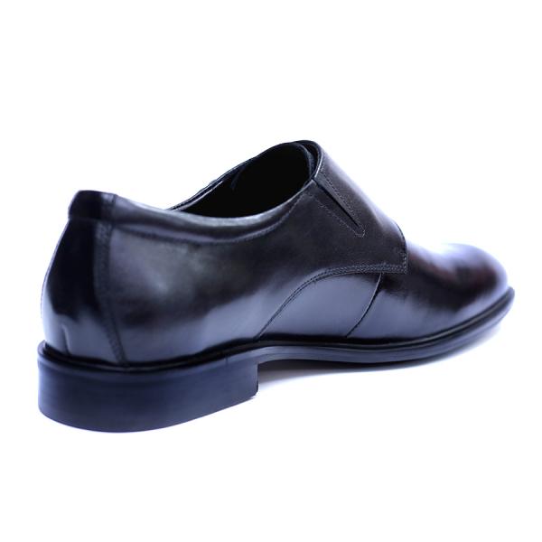 Pantofi barbati din piele naturala, Vito, SACCIO, Negru, 41 EU 2