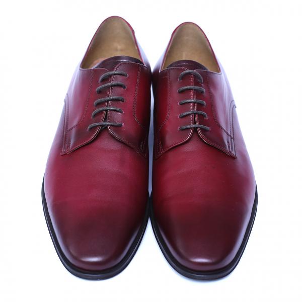 Pantofi eleganti barbati din piele naturala, Solari, DENIS, Bordeaux, 39 EU 1