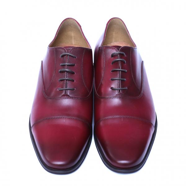 Pantofi barbati din piele naturala, Solari 2, DENIS, Bordeaux, 39 EU 1