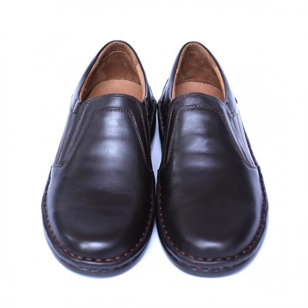 Pantofi barbati din piele naturala, Zen, Gitanos, Maro, 39 EU [1]