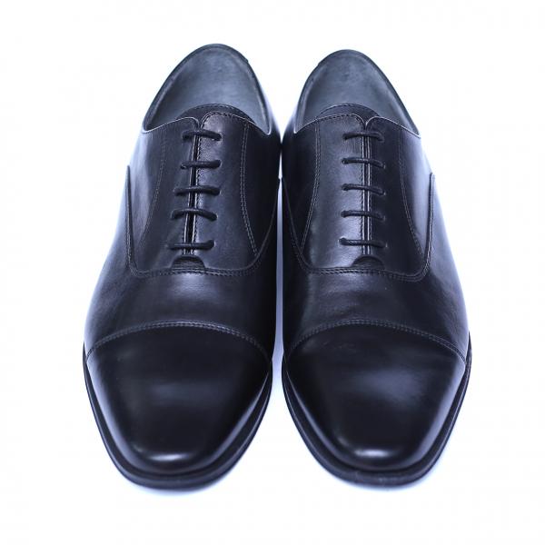 Pantofi barbati din piele naturala, Solari 2, DENIS, Negru, 39 EU 1