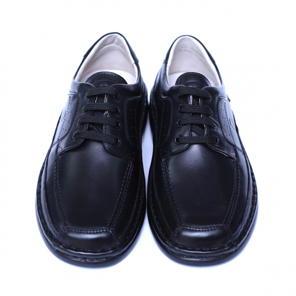 Pantofi barbati din piele naturala, Square, Gitanos, Negru, 39 EU [1]