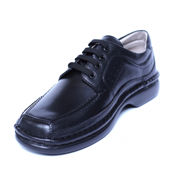 Pantofi barbati din piele naturala, Square, Gitanos, Negru, 39 EU [0]