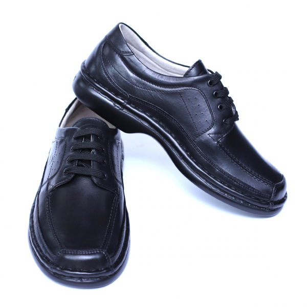 Pantofi barbati din piele naturala, Square, Gitanos, Negru, 39 EU [2]