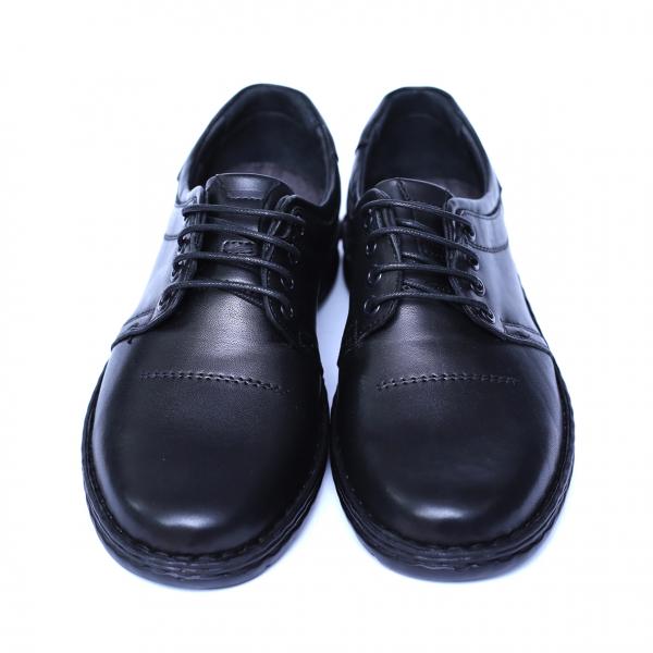 Pantofi barbati din piele naturala, Eddie, Cobra, Negru, 39 EU 1