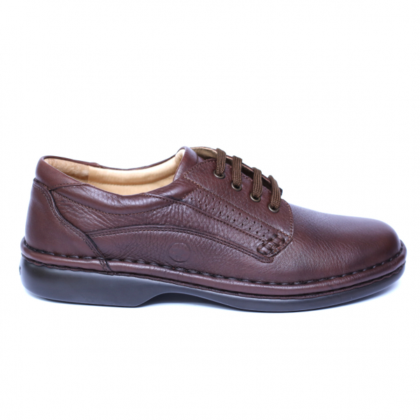 Pantofi barbati din piele naturala, Cayen, Gitanos, Maro, 39 EU 3