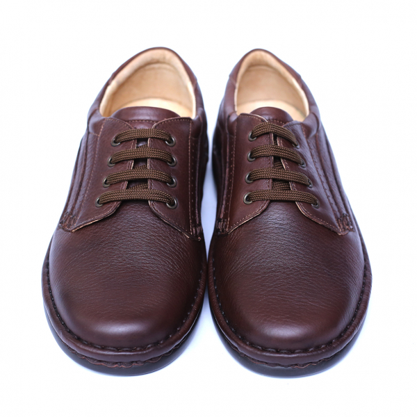 Pantofi barbati din piele naturala, Cayen, Gitanos, Maro, 39 EU 1