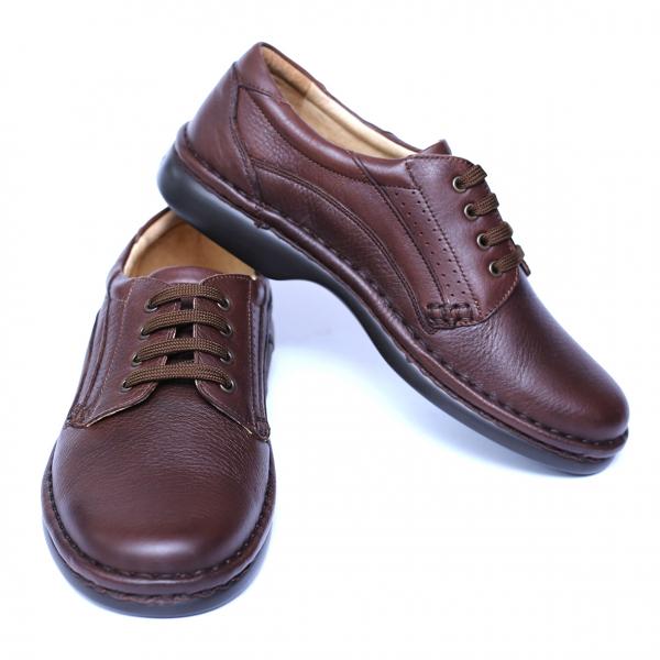 Pantofi barbati din piele naturala, Cayen, Gitanos, Maro, 39 EU 2