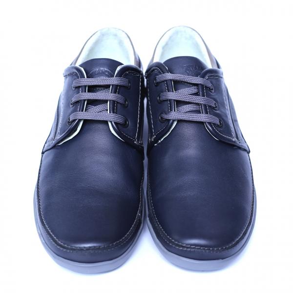 Pantofi barbati din piele naturala, Daily, Gitanos, Albastru, 39 EU 1