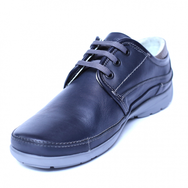 Pantofi barbati din piele naturala, Daily, Gitanos, Albastru, 39 EU 0