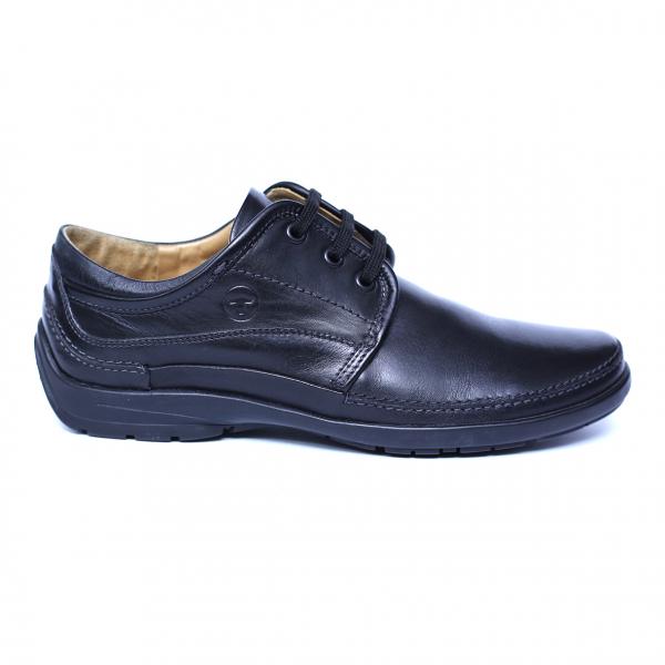 Pantofi barbati din piele naturala, Daily, Gitanos, Negru, 39 EU 3