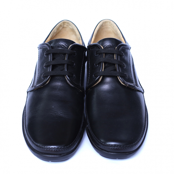 Pantofi barbati din piele naturala, Daily, Gitanos, Negru, 39 EU 1