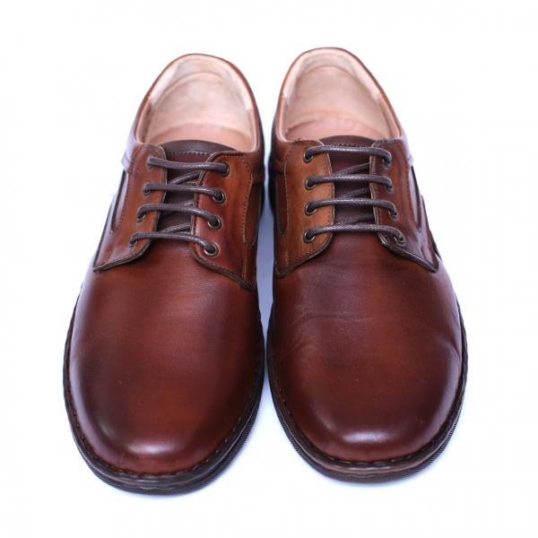Pantofi barbati din piele naturala, Bruce, Cobra, Maro, 39 EU 1