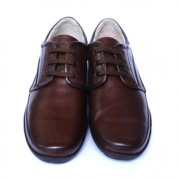 Pantofi barbati din piele naturala, Daily, Gitanos, Maro, 39 EU [1]
