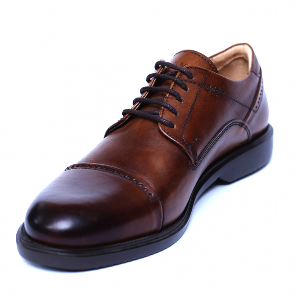 Pantofi barbati din piele naturala, Marco, Gitanos, Maro, 39 EU [0]