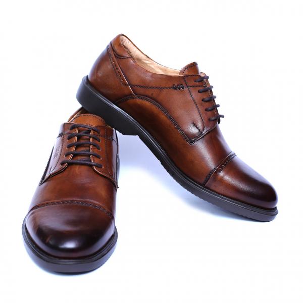 Pantofi barbati din piele naturala, Marco, Gitanos, Maro, 39 EU [2]