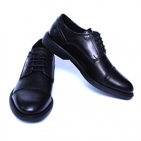 Pantofi barbati din piele naturala, Marco, Gitanos, Negru, 39 EU 1